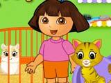 Даша следопыт играть онлайн бесплатно уход за домашними животными