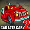 Флеш игра автомобильчик Car Eats Car 2 Deluxe