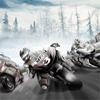 Гонки на льду на мотоцикле 3D